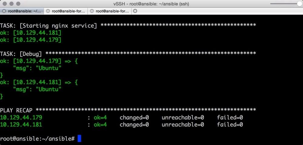 Автоматизируем и ускоряем процесс настройки облачных серверов с Ansible. Часть 2: вывод, отладка, и повторное использование playbook - 8