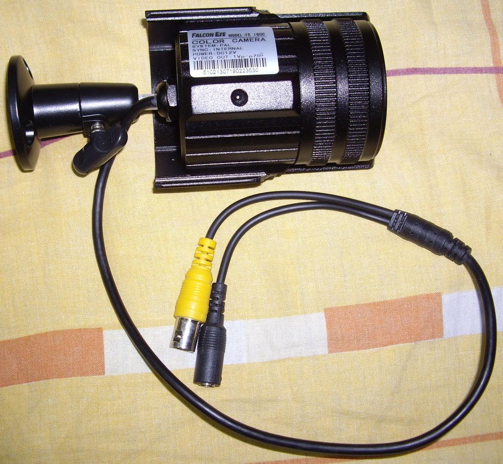 Бюджетный комплект видеонаблюдения для наружного использования - 12