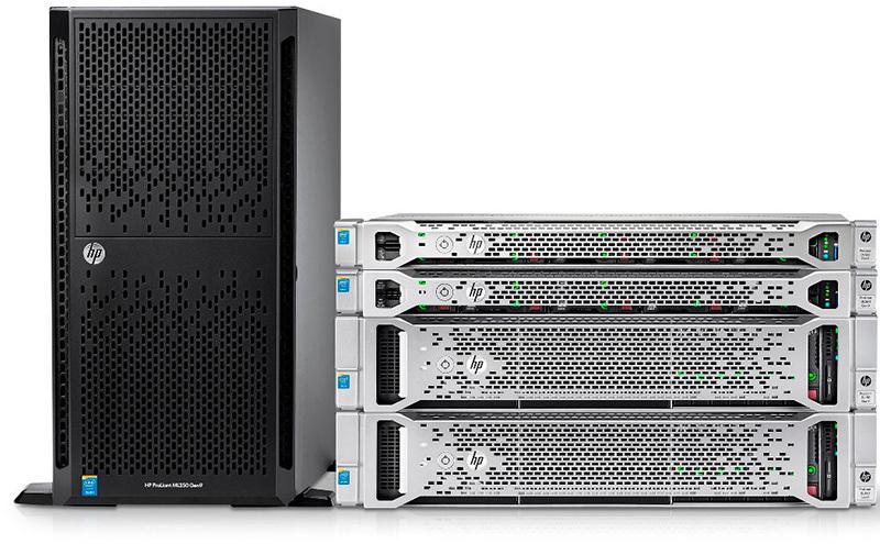 Доступные модели серверов HP ProLiant (10 и 100 серия) - 1