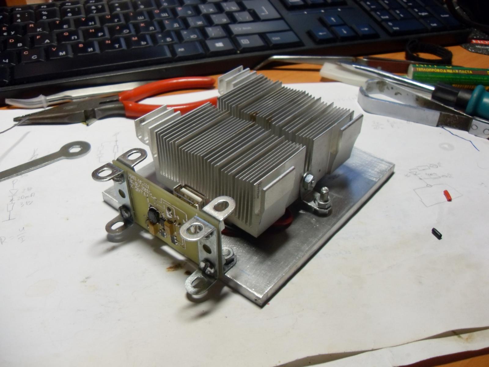 Эксперимент по постройке термоэлектрического генератора на основе элементов Пельтье - 10