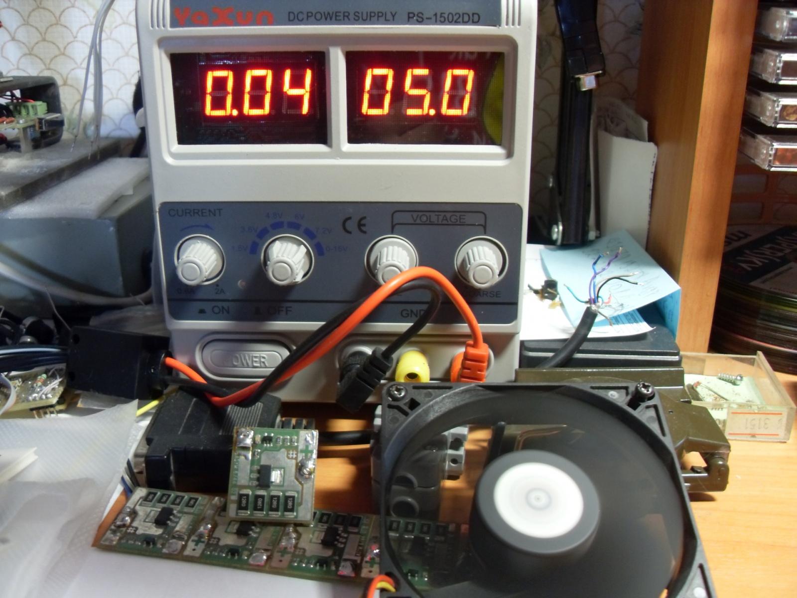 Эксперимент по постройке термоэлектрического генератора на основе элементов Пельтье - 4