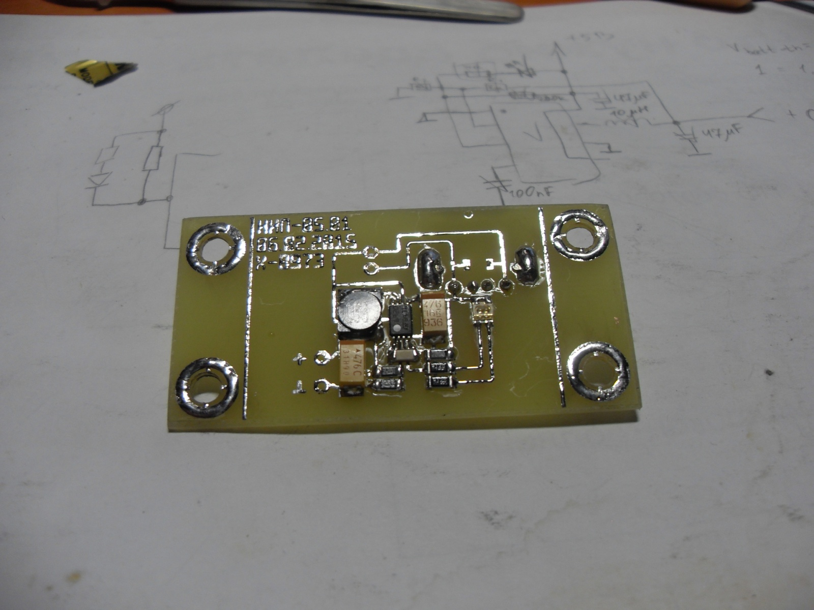 Эксперимент по постройке термоэлектрического генератора на основе элементов Пельтье - 8