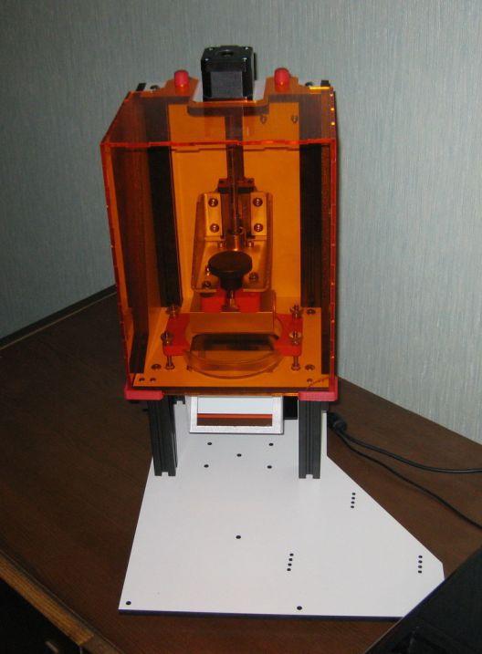 Еще один домашний стереолитографический принтер - 3