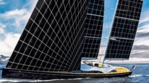 Итальянцы создали яхту на солнечных парусах