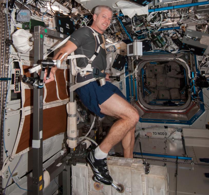 Как выглядит рабочий день на МКС - 2