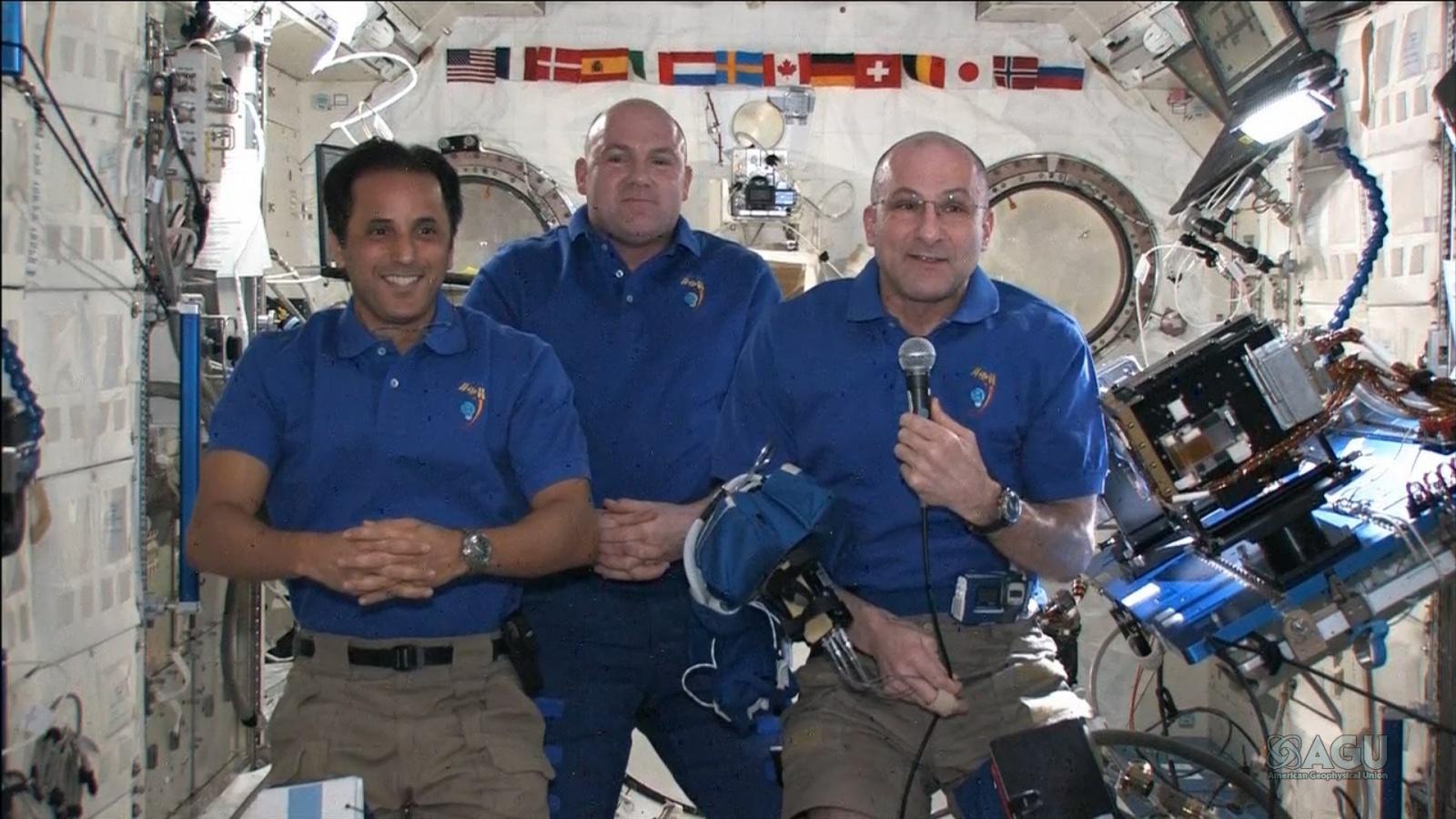 Как выглядит рабочий день на МКС - 3