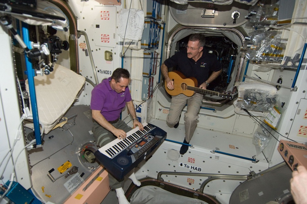 Как выглядит рабочий день на МКС - 4