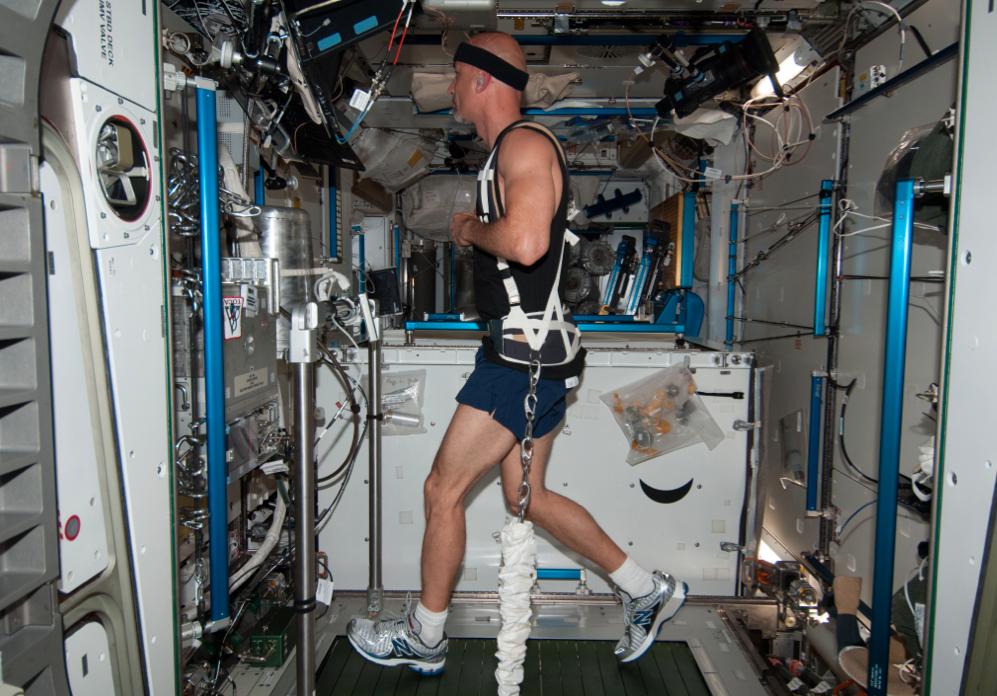 Как выглядит рабочий день на МКС - 7