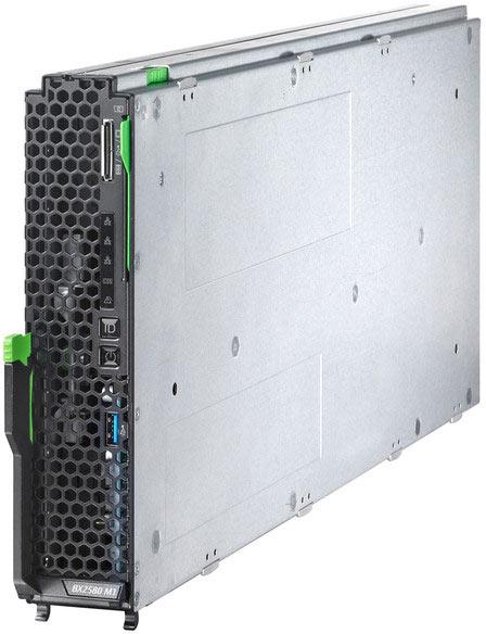 К общим чертам серверов Fujitsu Primergy RX2530 M1 и BX2580 M1 можно отнести использование процессоров Intel Xeon E5-2600 v3