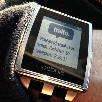 Проблема с экраном часов Pebble Steel и личный опыт ее устранения - 1