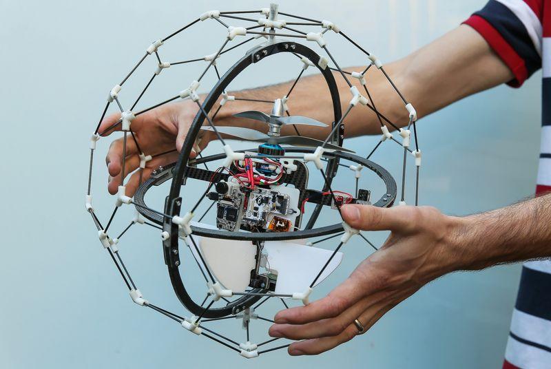 GimBall: шарообразный коптер для проведения спасательных работ - 1