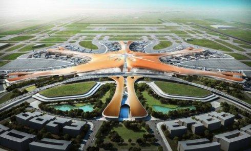 Крупнейший в мире аэропорт построят в Пекине
