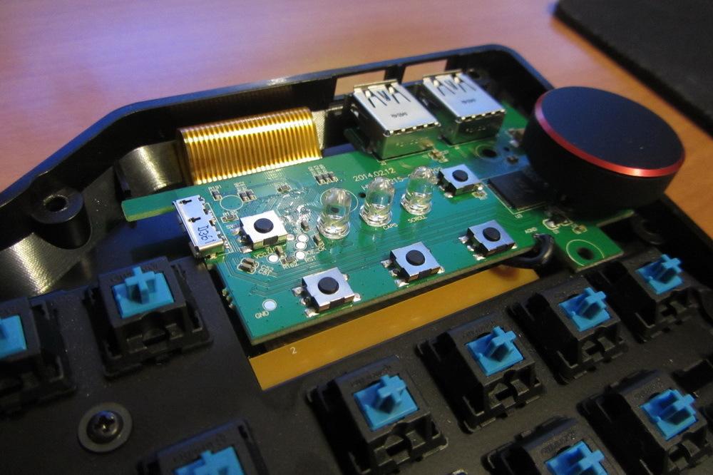 Обзор и разбор клавиатуры Das Keyboard 4 Professional Clicky - 34