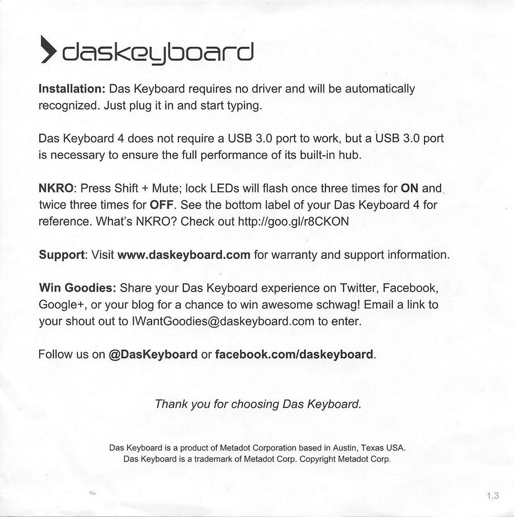 Обзор и разбор клавиатуры Das Keyboard 4 Professional Clicky - 4