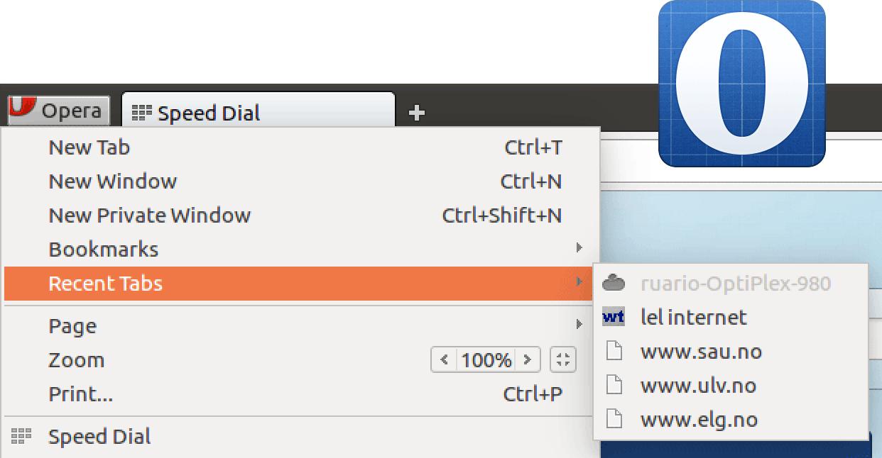 Первая сборка Opera 29 с синхронизацией вкладок - 1