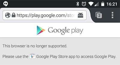 Google Play Store заблокировал Firefox под Android (скорее всего, по ошибке) - 1