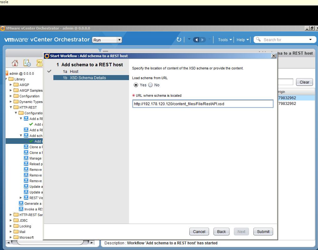 Автоматизация задач резервного копирования с помощью vCenter Orchestrator через Veeam Restful API - 12