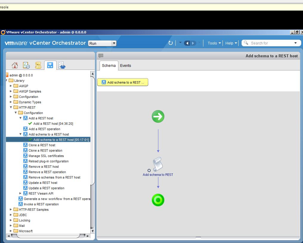 Автоматизация задач резервного копирования с помощью vCenter Orchestrator через Veeam Restful API - 13