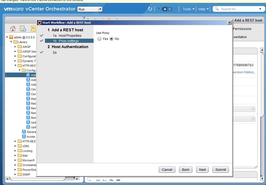 Автоматизация задач резервного копирования с помощью vCenter Orchestrator через Veeam Restful API - 4
