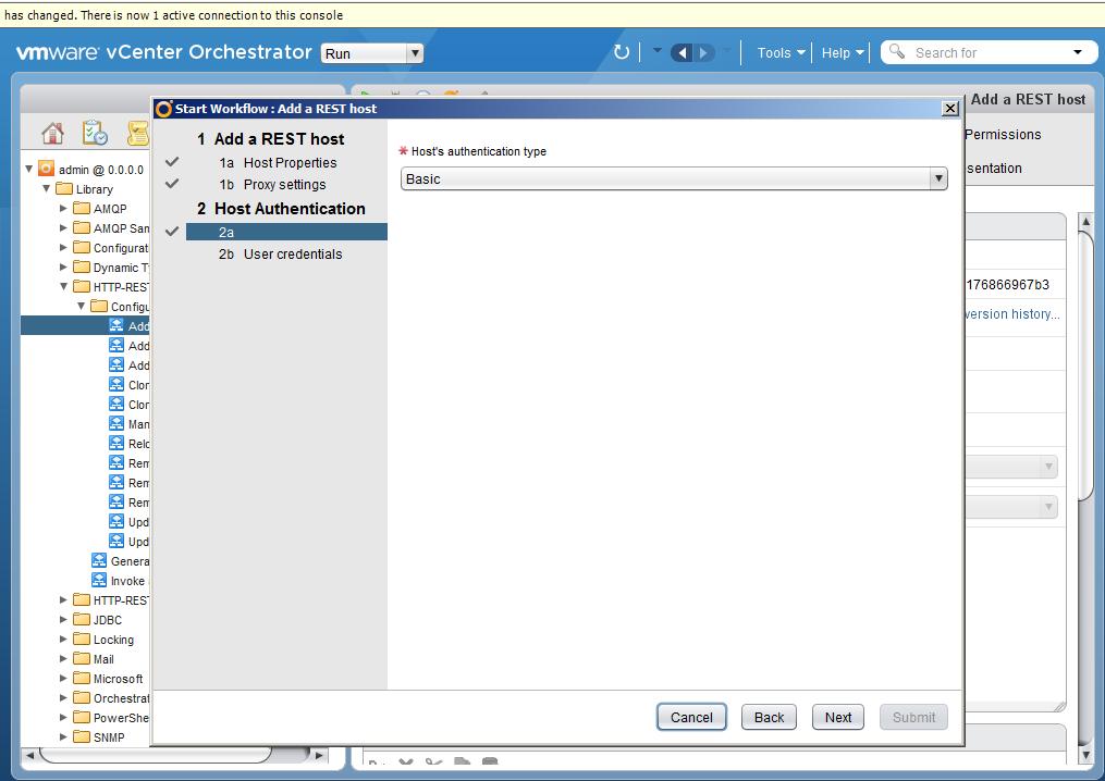 Автоматизация задач резервного копирования с помощью vCenter Orchestrator через Veeam Restful API - 5
