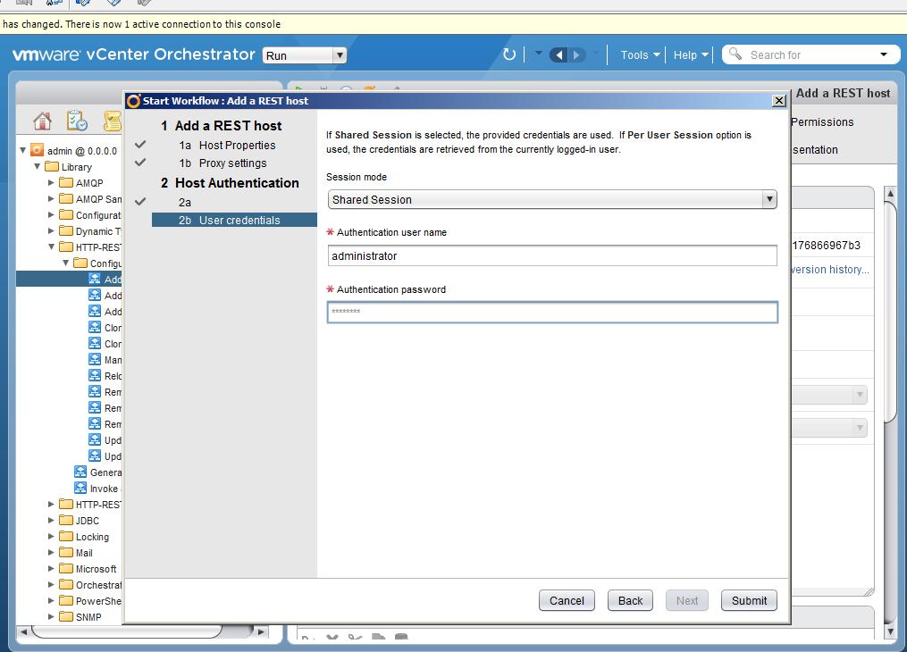 Автоматизация задач резервного копирования с помощью vCenter Orchestrator через Veeam Restful API - 6