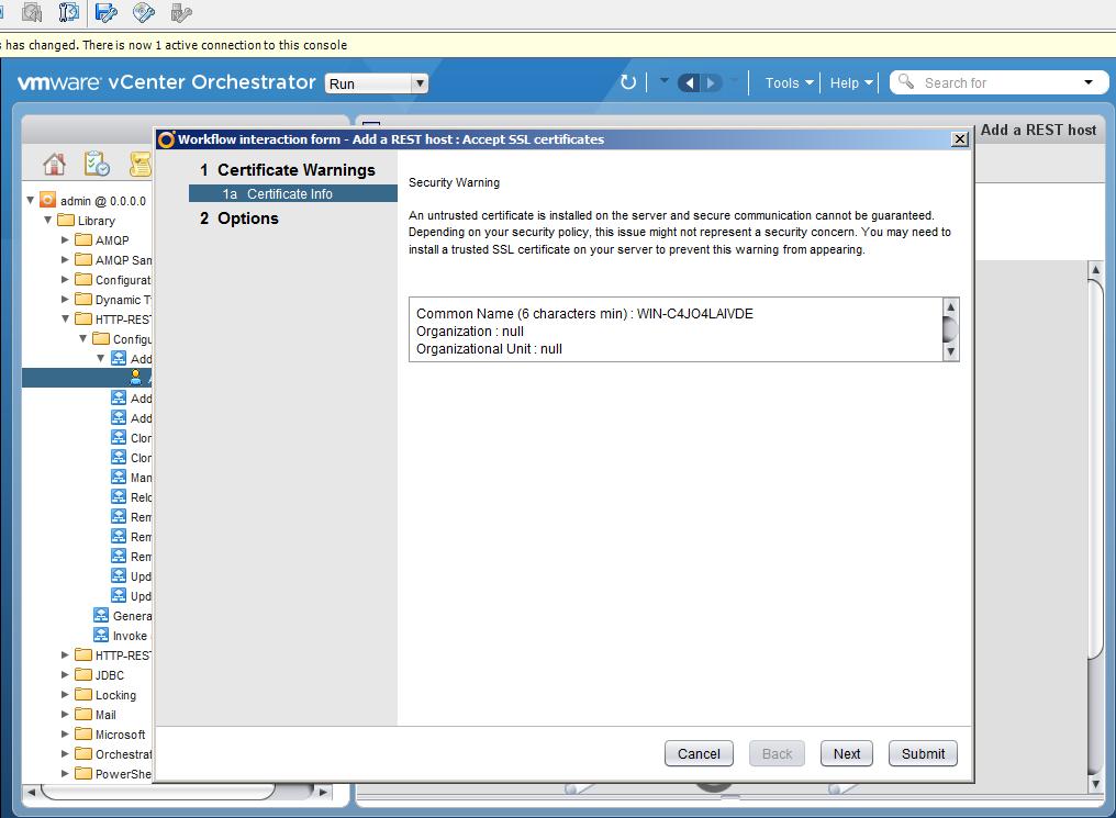 Автоматизация задач резервного копирования с помощью vCenter Orchestrator через Veeam Restful API - 7