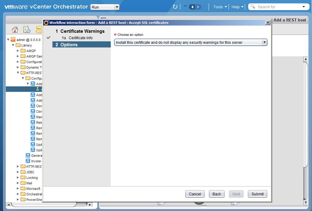 Автоматизация задач резервного копирования с помощью vCenter Orchestrator через Veeam Restful API - 8