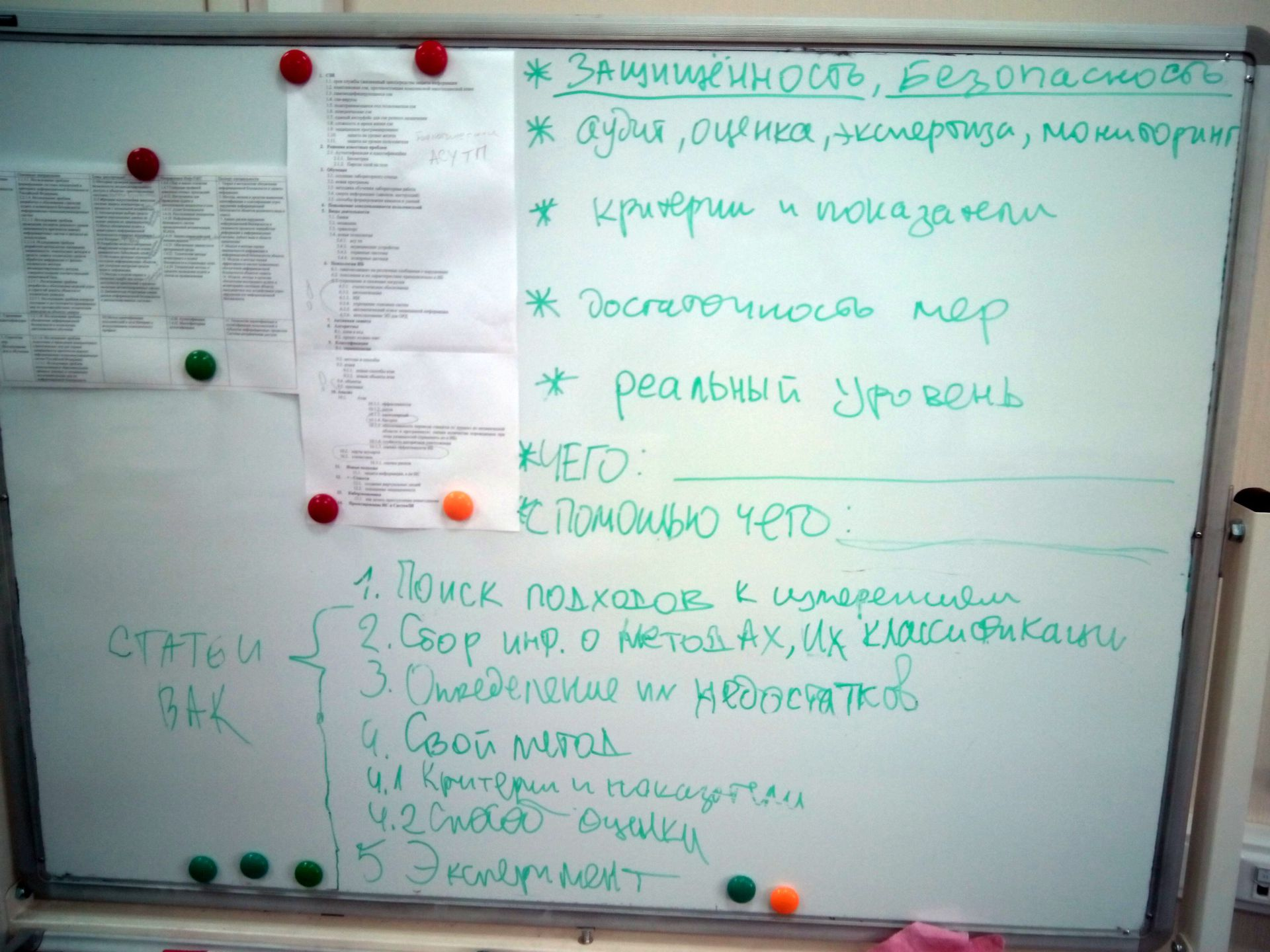 Методика выбора темы диссертации по специальности «Информационная безопасность» - 2