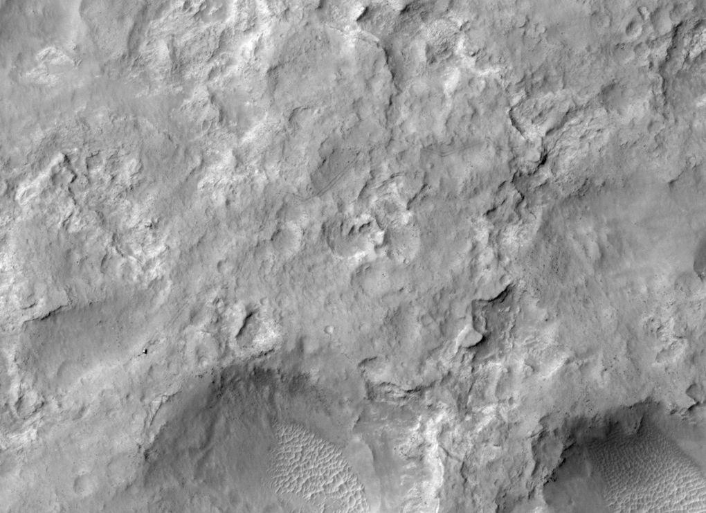 Наблюдаем за Curiosity с орбиты (2012-2015) - 10