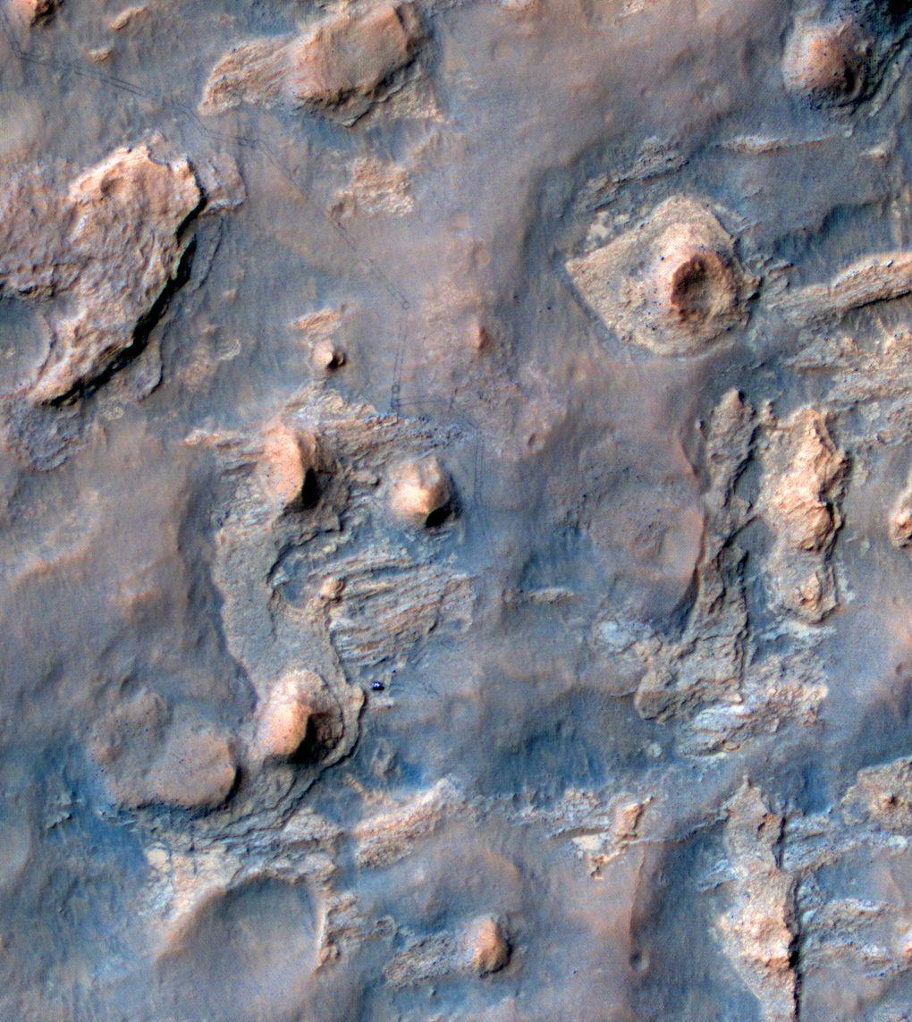 Наблюдаем за Curiosity с орбиты (2012-2015) - 11