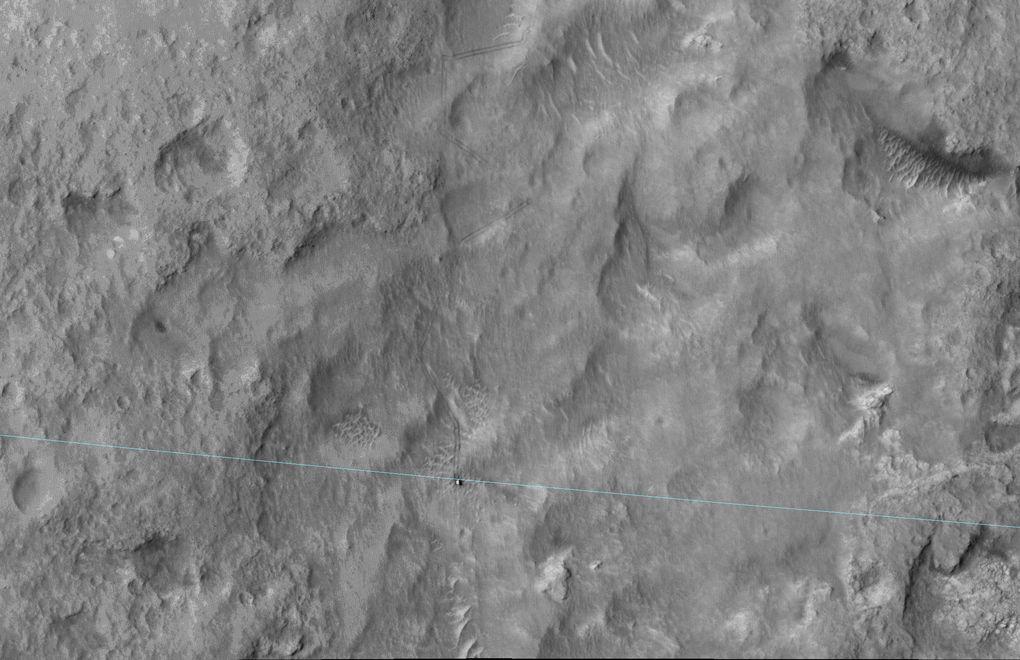 Наблюдаем за Curiosity с орбиты (2012-2015) - 12