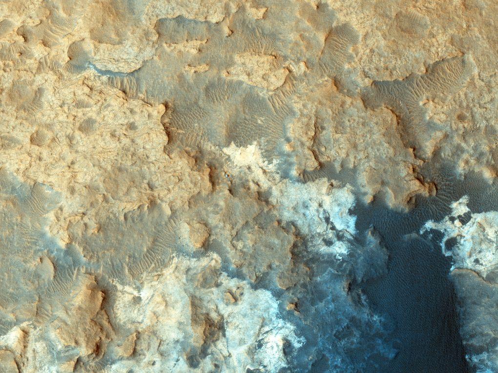 Наблюдаем за Curiosity с орбиты (2012-2015) - 13