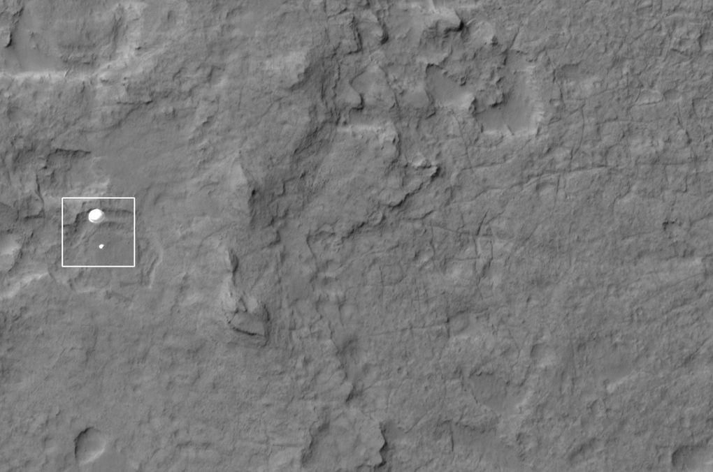 Наблюдаем за Curiosity с орбиты (2012-2015) - 2