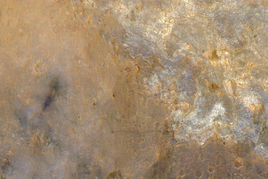 Наблюдаем за Curiosity с орбиты (2012-2015) - 9