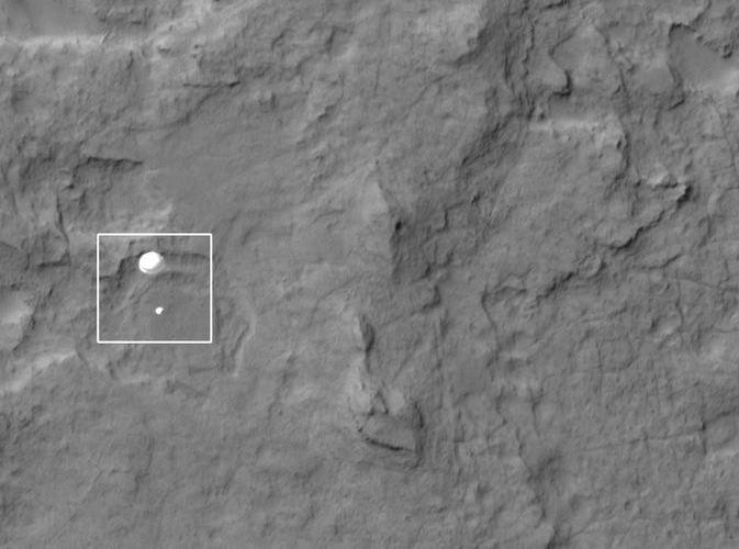 Наблюдаем за Curiosity с орбиты (2012-2015) - 1
