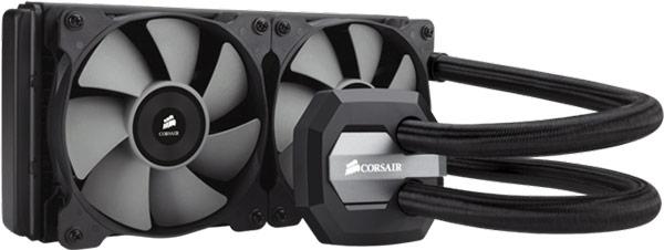 СВО Corsair Hydro Series H100i GTX стоит $120, Corsair Hydro Series H80i GT — $100