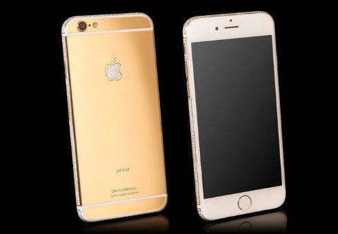 Британская компания хочет 3,5 миллиона долларов за золотой iPhone 6