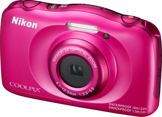 Продажи Nikon Coolpix S33 начнутся в марте, по рекомендованной цене $150