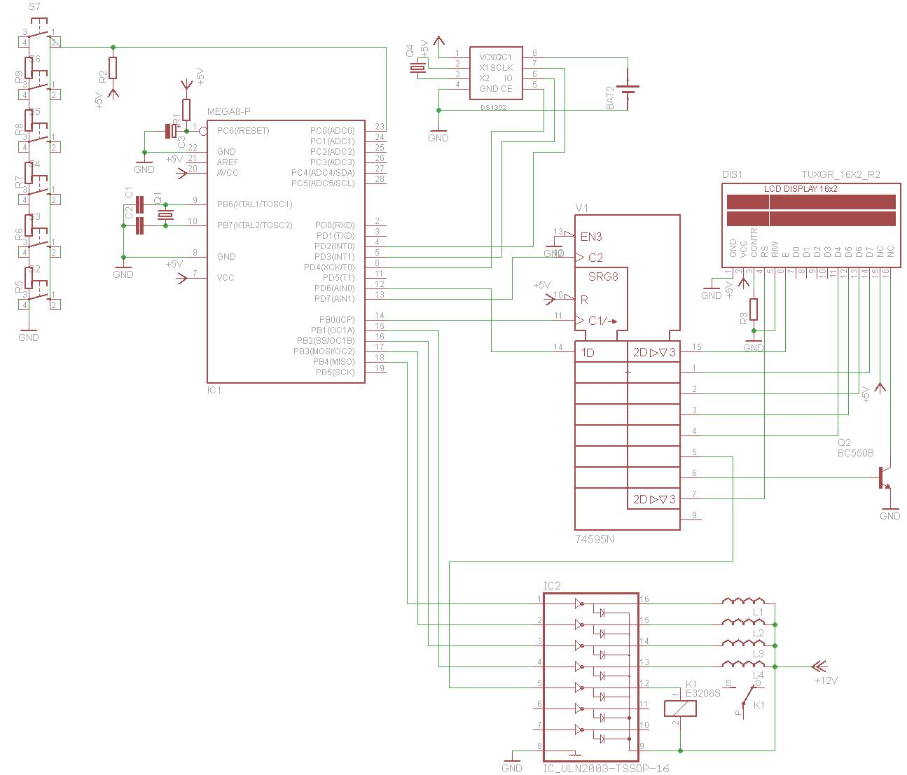 Контроллер для аквариума без Arduino - 14