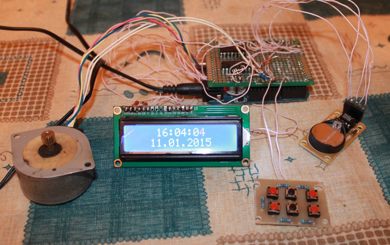 Контроллер для аквариума без Arduino - 2