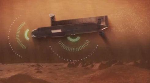 НАСА представило эскиз атомной субмарины для исследования морей Титана