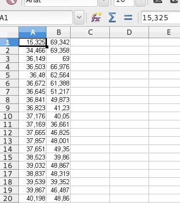 Преобразование растрового графика в таблицу данных - 15