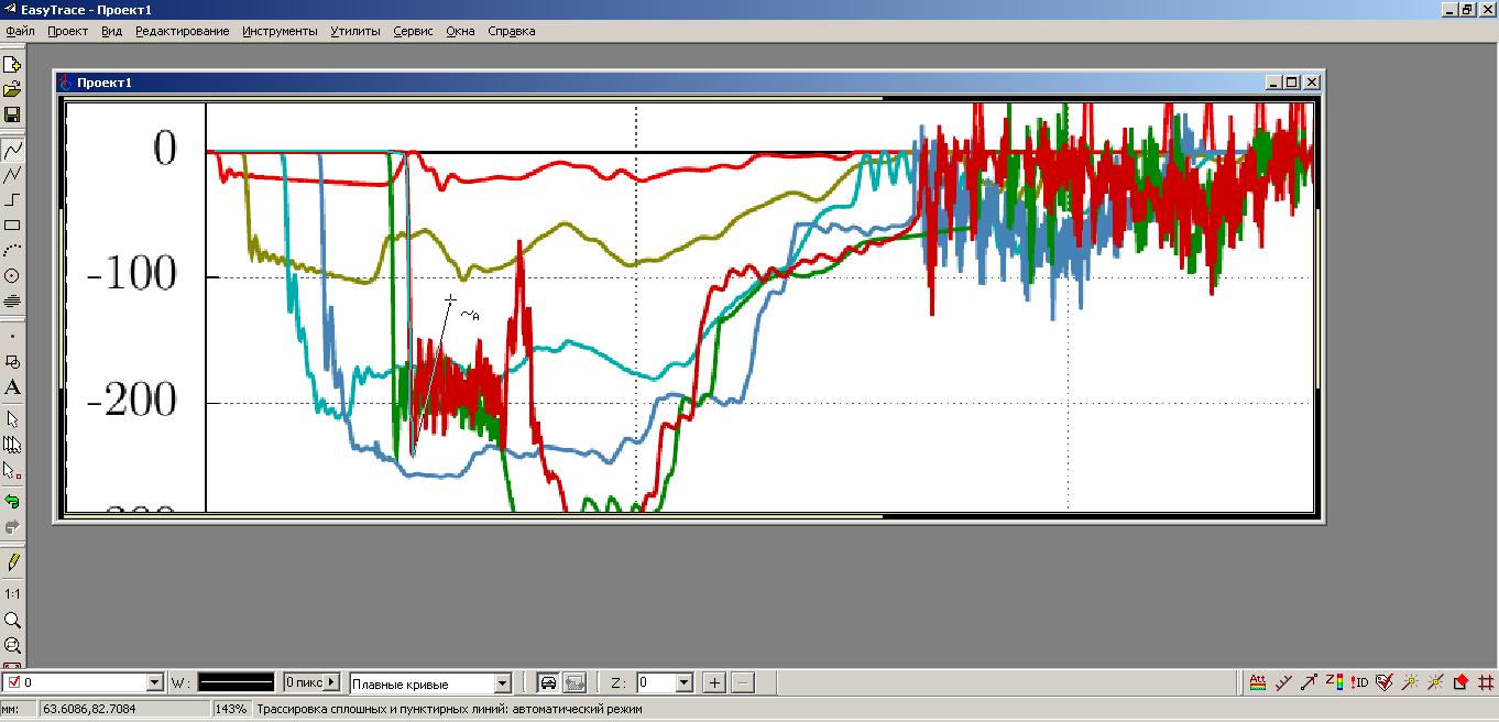 Преобразование растрового графика в таблицу данных - 7