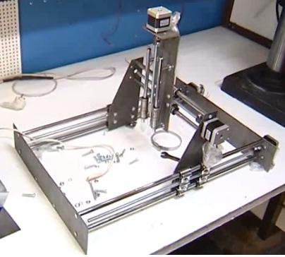 Создание станка с ЧПУ из доступных деталей с минимум слесарной работы - 6