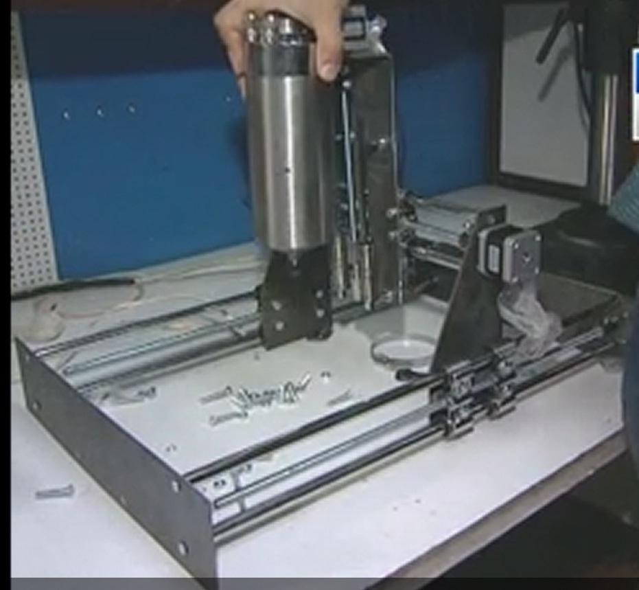 Создание станка с ЧПУ из доступных деталей с минимум слесарной работы - 1
