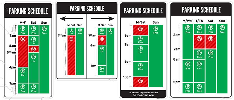 Дизайнер воюет с идиотскими знаками парковки в США - 3