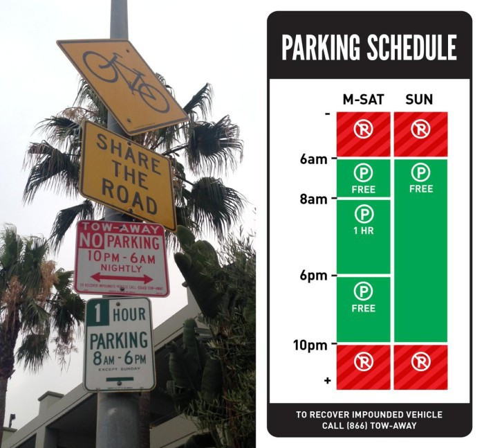 Дизайнер воюет с идиотскими знаками парковки в США - 5