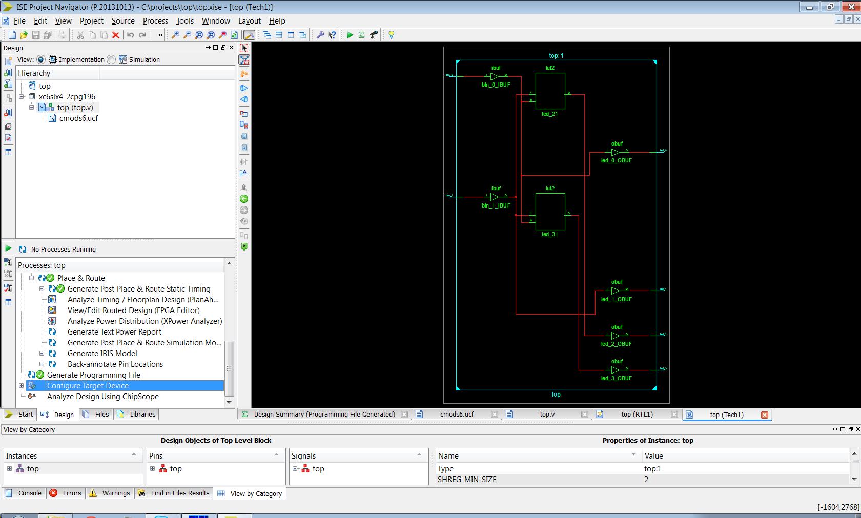 Как начать разрабатывать железо, используя ПЛИС — пошаговая инструкция - 32