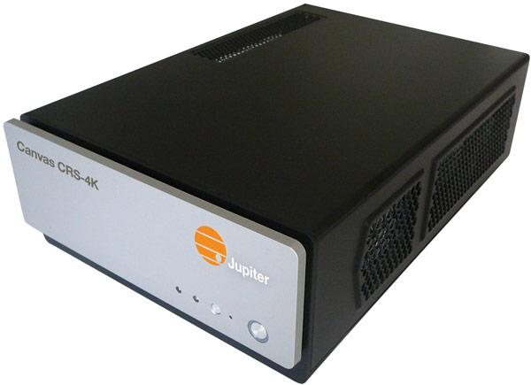 В Jupiter Systems Canvas CRS-4K используется фирменная технология SimpleShare