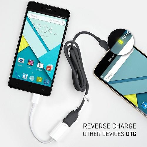 Смартфон BLU Studio Energy: аккумулятор емкостью 5000 мАч и подзарядка других смартфонов - 2